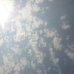 Teravam silm näeb pilvedes lennukit