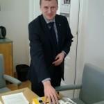 Komisjoni esimehe valimine oli salajane. Foto:V.Korb