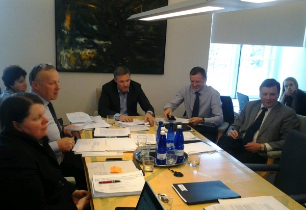 Jahiseaduse arutelul Keskkonnakomisjonis. Foto:V.Korb
