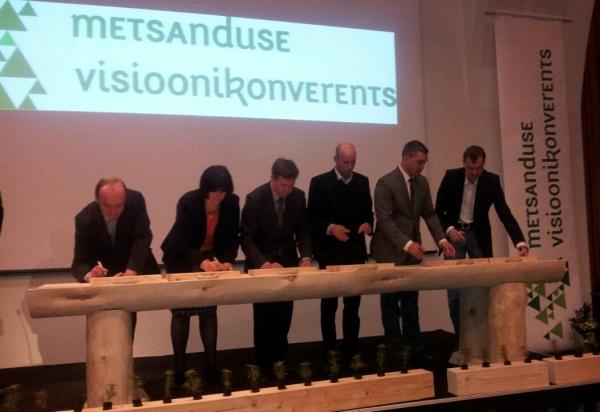 Metsa majandamise hea tava allkirjastamine 19.aprillil 2013