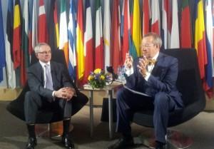 Debatt Euroopa tuleviku teemal 9.mail 2013 aastal