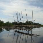 PIldil olevad abivahendeid on vaja mõrraga kalapüügiks.