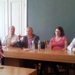 UK parlamendi liberaaldemokraatidest liikmed Toompeal