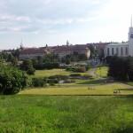 Tśehhi linna Brno ööbimispaiga lähedal oli kaunis park