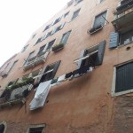 Veneetsia elaniku pesukuivatus