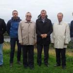 Eesti delegatsioon Rivingtoni ääres