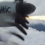 """Lennukiaknast pildistatud propeller """"lendas minema"""". Õnneks ainult pildil"""