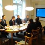 Rootsi majandusministeeriumis, foto: V.Korb