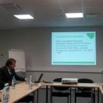 EKUK-i juhatuse esimees Margus Kört tutvustab ettevõtet.