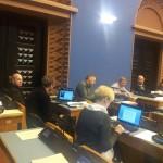 Kolleeg Tsahkna annab Riigikogu ööistungist otseintervjuud Ringvaatele