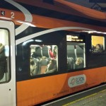 Rongi lahkudes Ülemiste jaamast oli veel vabu kohti