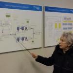 Pr Põldoja tutvustab veepuhastuse tehnoloogilist skeemi