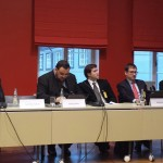 Kõneleb Leedu esindaja, pildil vasakult esimene, lätlane tema kõrval