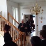 Pr suursaadik Marina Kaljurand peab kõnet