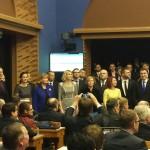 Rõivase valitsus Riigikogus peale ametivannet