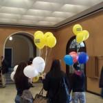 Külalistele jagati nii õhupalle, komme kui infot