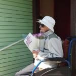 Kolmas peatus oli väga emotsionaalne, soovisime õnne peatselt 103 aastaseks saavale Pilvile.