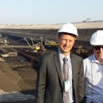 Pildil koos Eesti Energia Kaevandused juhi Veljo Aleksandroviga
