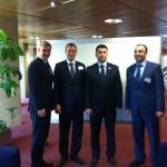 Kohtumine Armeenia parlamendi asespiikri ja peasekretäriga