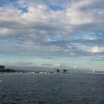 Genfi järve ilmestab 100 meetri kõrgust veejuga andev purskkaev