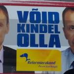 2011 aastal kandideerisime Jürgeniga koos Järva-ja Viljandimaal