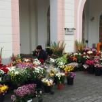 Kooseluseaduse vastuvõtmise järel täitus Riigikogu esine lilledega
