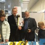 Merkuri esindaja Kriź oli väga huvitatud meie kooliõpilastele konstruktorite pakkumisest