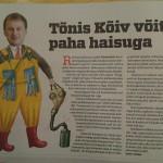 Eesti Ekspressis avaldatud haisuvana pilt