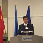 Hiina Suursaadik Eestis härra Qu She peab avakõnet