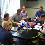 Koostööleppe allkirjastamine Rae valla ja kuue ettevõtja vahel
