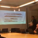 Abivallavanem Madis Sarik tutvustab volikogule Järveküla kooli projekti