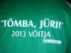 Tõmba Jüri võitja särk, aprill 2013