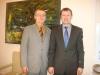 Keskkonnakomisjoni esimees Tõnis Lukas ja Tõnis Kõiv 2013 a Tõnisepäeval