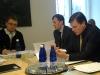 Riigikogu keskkonnakomisjonis raporti arutelul, vasakult Tõnis Lukas, Tõnis Kõiv ja Jaanus Tamkivi