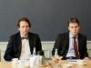 Tśehhi-asevälisminister Petr Drulak ja suursaadik Richard Kadlcak